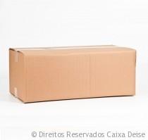 Caixa de Papelão Usada Invertida