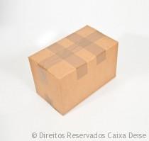 Caixa Papelão - Fechamento com cinta dupla
