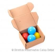 Caixa para Sedex com bolinhas