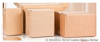 Caixas de Papelão Usadas