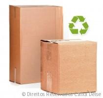 Caixas Papelão Recicladas