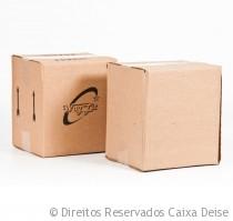 Caixas Papelão Usadas Invertidas