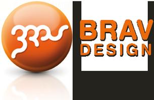 Logo Brav Design