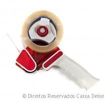 Aplicador de Fita Adesiva Vermelha